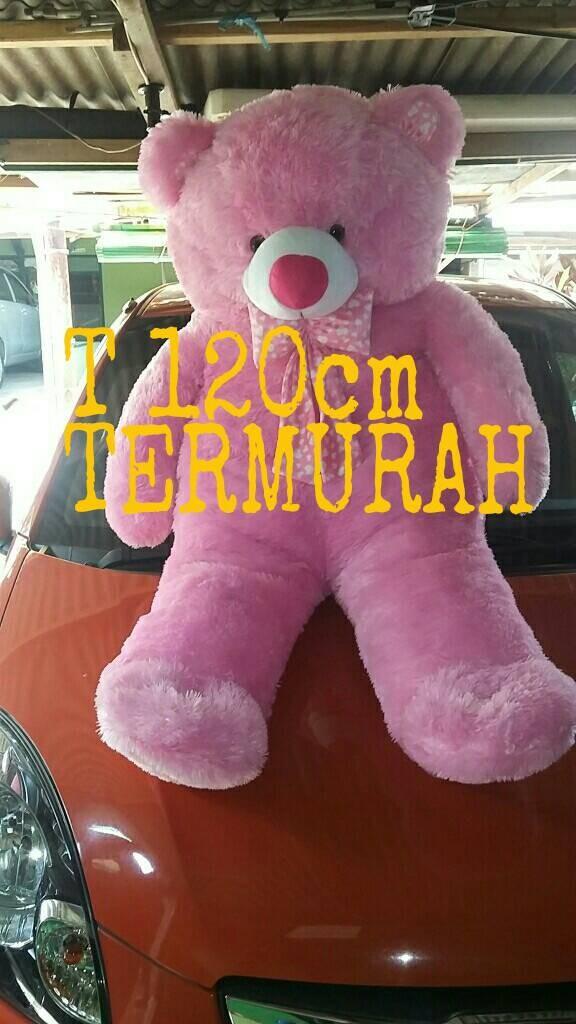 harga Boneka teddy bear jumbo pengrajin Tokopedia.com