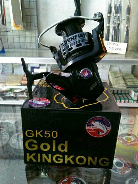 harga Reel golden fish kingkong gk50 Tokopedia.com