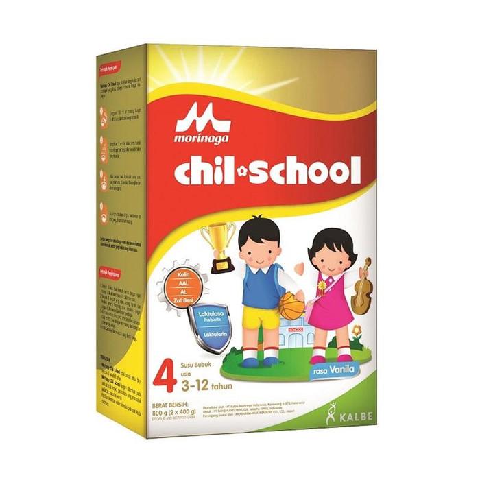 harga Morinaga Chilschool Reguler Vanila 800gr Tokopedia.com