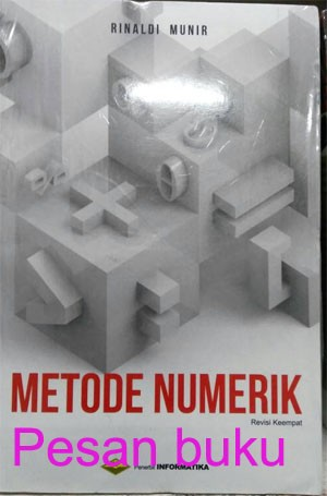 harga Buku metode numerik (edisi revisi ke-4) Tokopedia.com