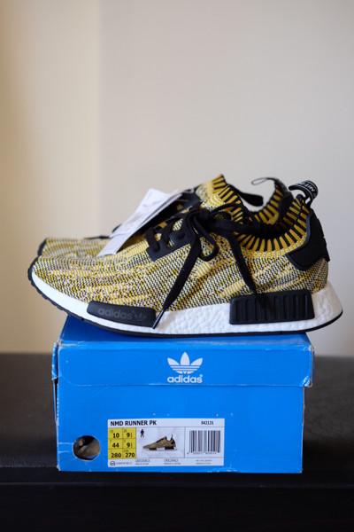 c9b427abe Jual ADIDAS NMD R1 PK YELLOW CAMO - Kota Denpasar - Sneaker Mafia ...
