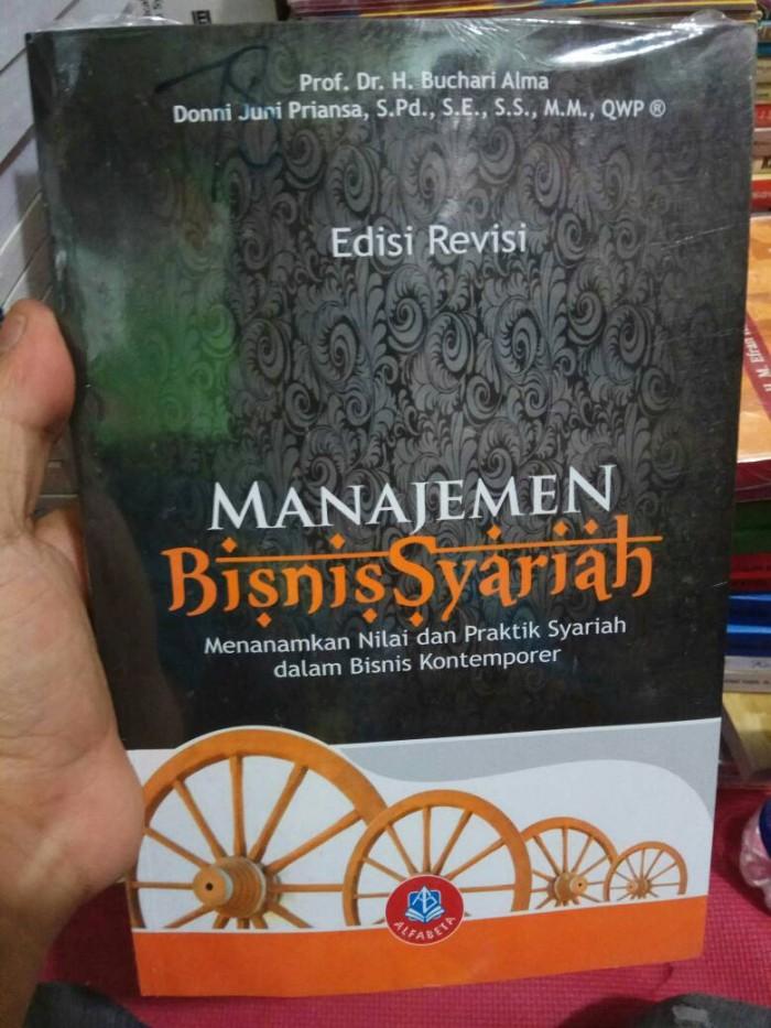 Jual Manajemen Bisnis Syariah Buchari Alma Cek Harga Di Pricearea Com