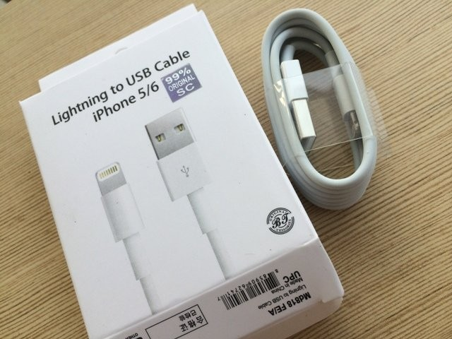 Kabel Charge Iphone 5 /6 /7 ORIGINAL Kabel Data USB Charger Bergaransi