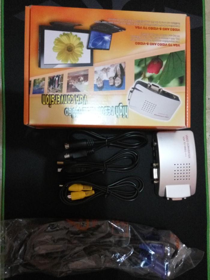 harga Vga to rca converter box - pc to tv Tokopedia.com
