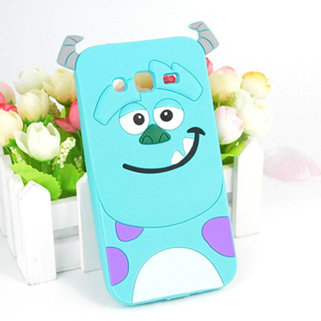 soft case 3d Samsung Galaxy S4 softcase boneka sulley Monster casing