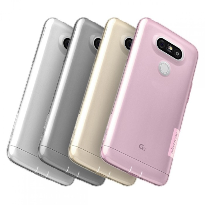 Transparan Clear Jelly Soft Lg G5 SE Nillkin Case View Cover Silicon .