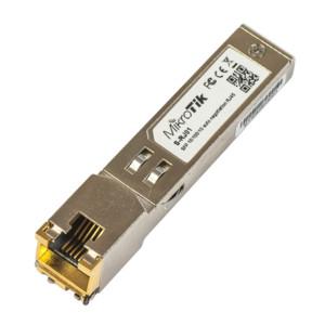harga Mikrotik s-rj01 sfp to rj45 10/100/1000m copper module Tokopedia.com