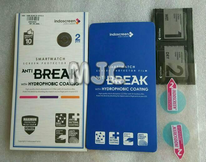 harga Anti break samsung gear s2 sporty isi 2 pcs hikaru indoscreen Tokopedia.com