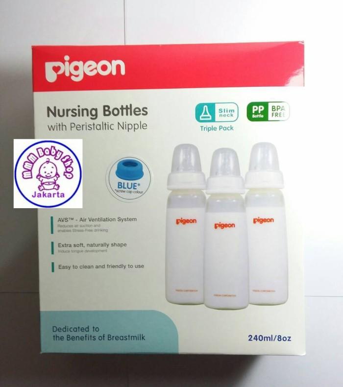 harga Pigeon Botol Peristaltic Slim Neck Pp 240ml Tokopedia.com