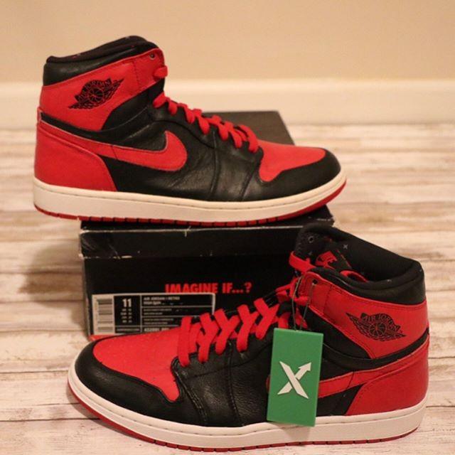 1 Jordan Retro Jual Nike The A'sTokopedia Banned Air 2011 tshdQrC