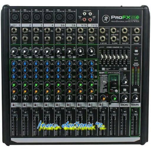 harga Mixer mackie pro fx 12 v2 (12 chanel original) Tokopedia.com