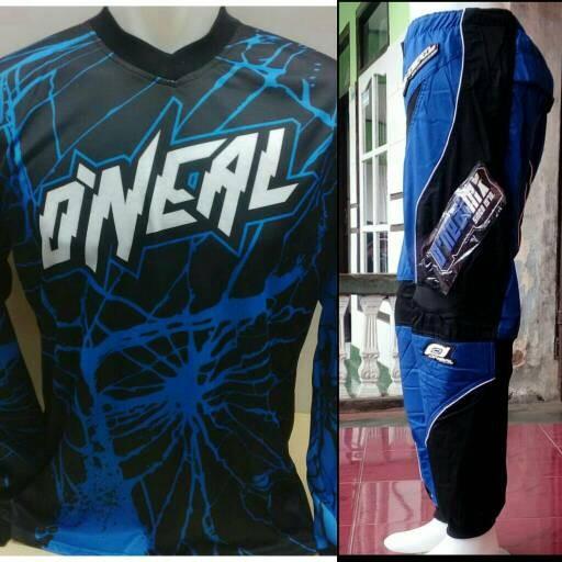 harga Grosir murah jersey celana trail cross adventure downhill biru oneal Tokopedia.com