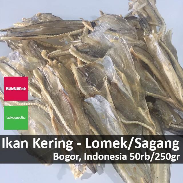 harga Ikan kering lomek / sagang - bogor Tokopedia.com