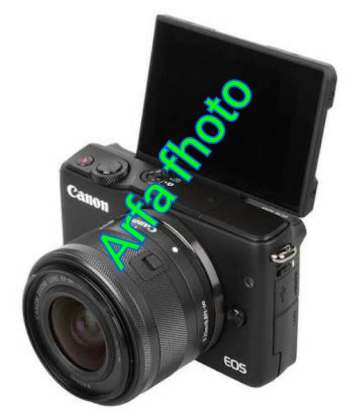 harga New camera mirolles canon m10 lensa 14-45mm Tokopedia.com