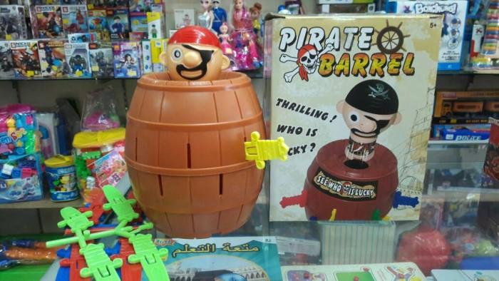 harga Pop up pirate barrel roulette game mainan board game Tokopedia.com