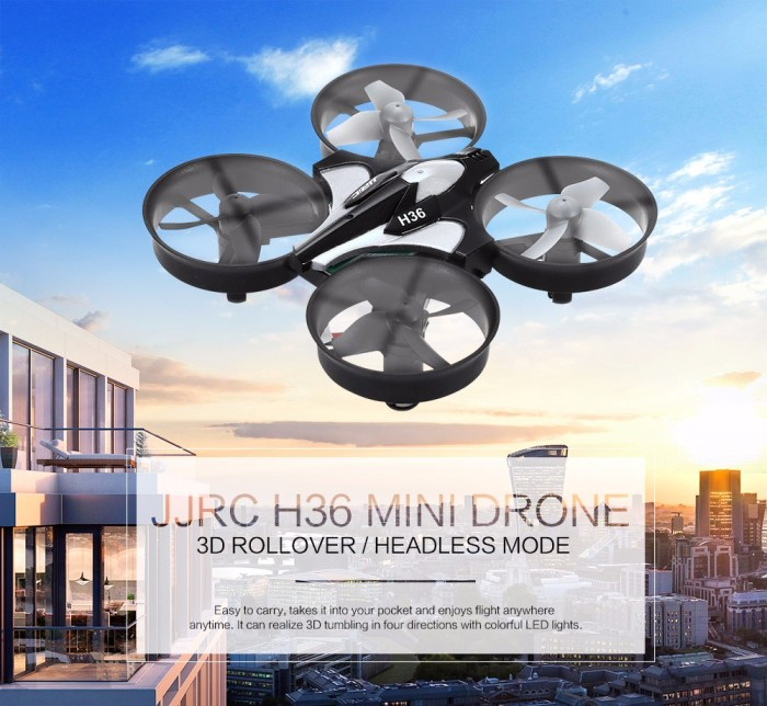 harga Jjrc h36 mini drone quadcopter helicopter rc 6 axis 2.4g 4ch Tokopedia.com