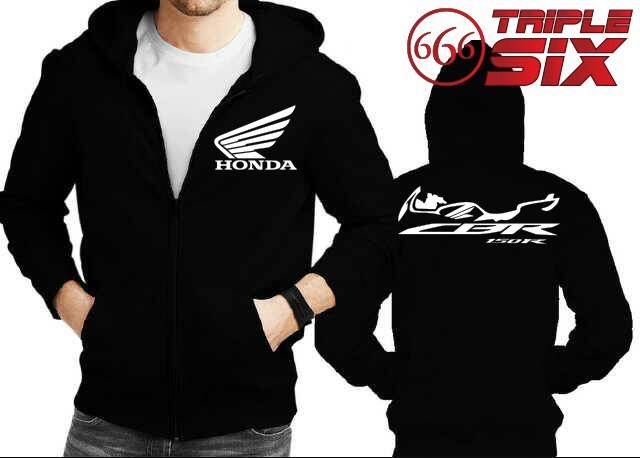 harga Jaket hoodie zipper honda cbr 150 - banyak warna Tokopedia.com