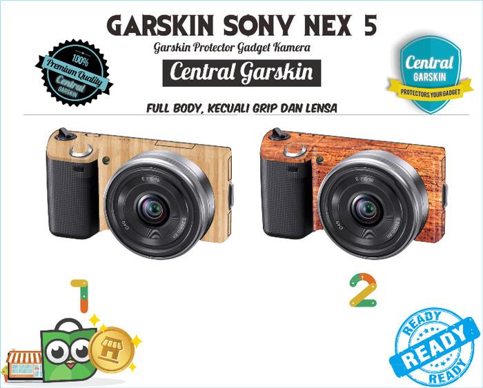 Garskin kamera sony nex 5 - kayu