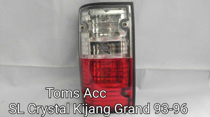 harga Stop lamp toyota kijang grand 1993-1996/tail light kristal/lampu belak Tokopedia.com