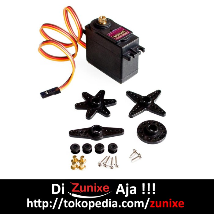Jual MG996R TowerPro Micro Servo MG996 Metal High Torque Arduino - Kota  Cimahi - Zunixe | Tokopedia