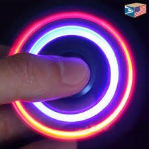 Fidget Spinner Lampu LED Fidget Spinner Lampu LED .