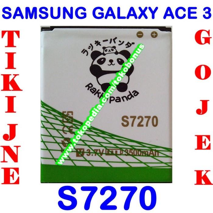 harga Baterai samsung galaxy ace 3 s7270 double power rakki panda Tokopedia.com