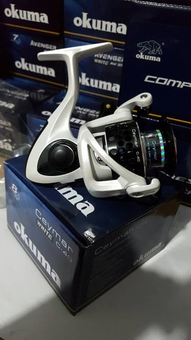 harga Reel okuma ceymar white c-40 kuat dan murah Tokopedia.com