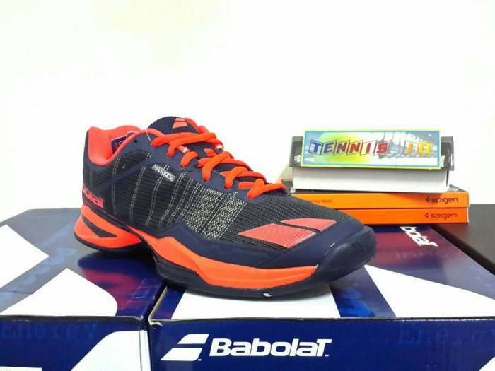 harga Sepatu tenis babolat jet team - black/red Tokopedia.com