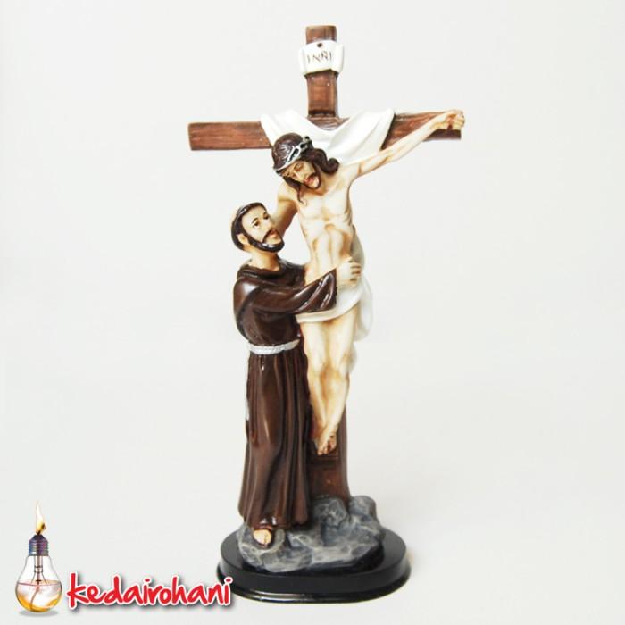 Jual Salib Duduk Yesus dan St. Fransiskus dari Asisi - 24 ...