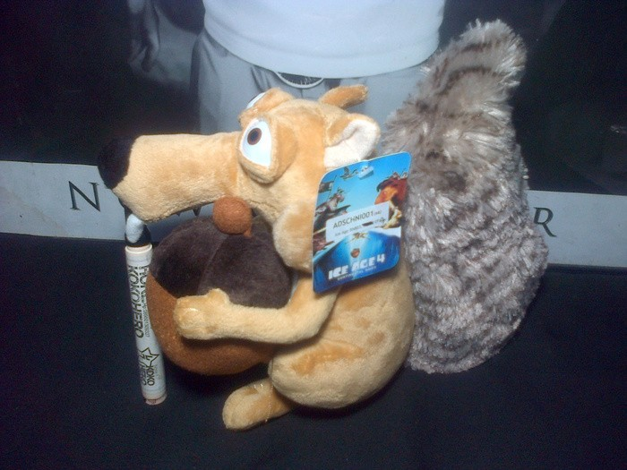 Jual Boneka Ice Age Scrat Plush Toy Tupai Original Import 30cm