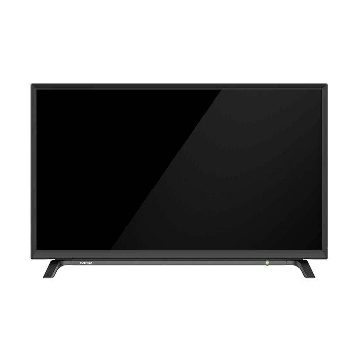 harga Toshiba 32l1600vj led tv - hitam [32 inch] Tokopedia.com
