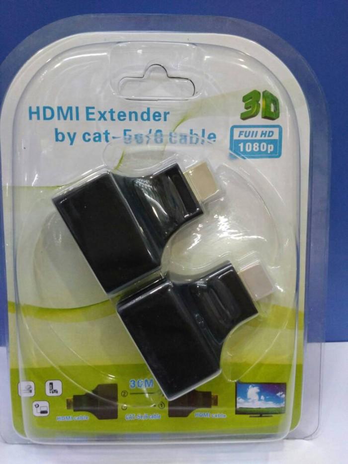 harga Hdmi extender max 30 meter over kabel land rj 45 Tokopedia.com
