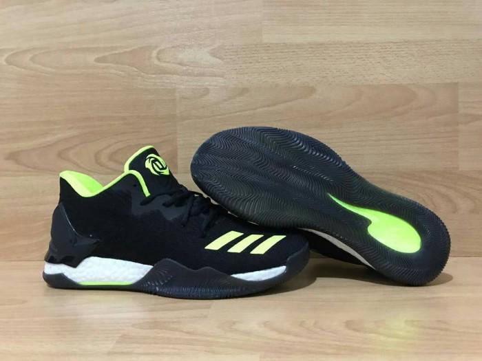 harga Sepatu basket adidas rose 7 low black green Tokopedia.com