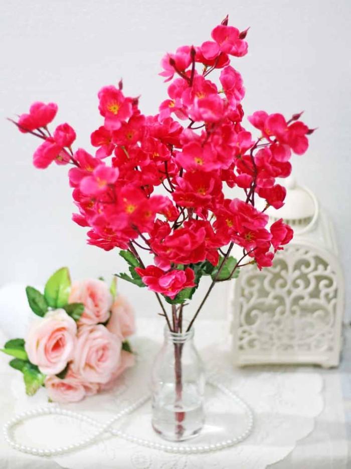 harga Bunga plastik artificial artifisial hias hiasan flower sakura a6 Tokopedia.com
