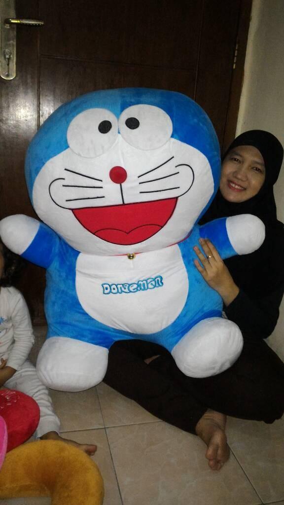 ... harga Boneka doraemon giant 1 meter extra big super jumbo bahan soft yelvo Tokopedia.com