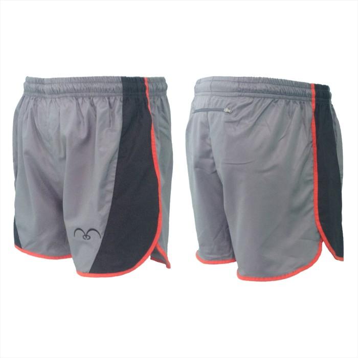 harga Celana Pendek Lari Olahraga Pria Wanita Cp-99 Abu Tokopedia.com
