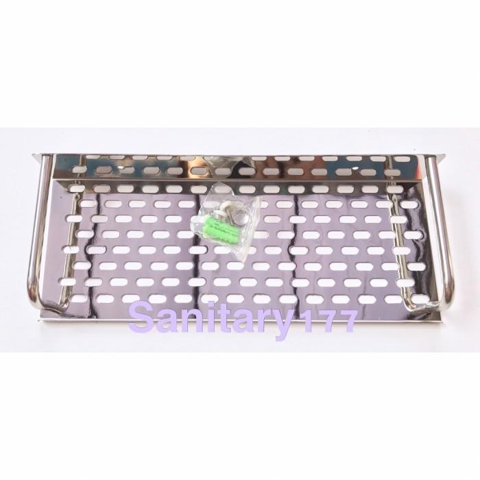 OEM Rak Bumbu Stainless 39x12x4,5 A400 -Perak. Source · Rak Stainless 40