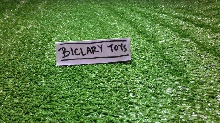 Bahan maket miniatur diorama karpet rumput sintetis plastik 50x50