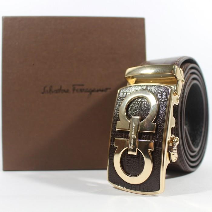 harga Gesper ikat pinggang rel kulit pria | salvatore ferragamo 304 gold Tokopedia.com