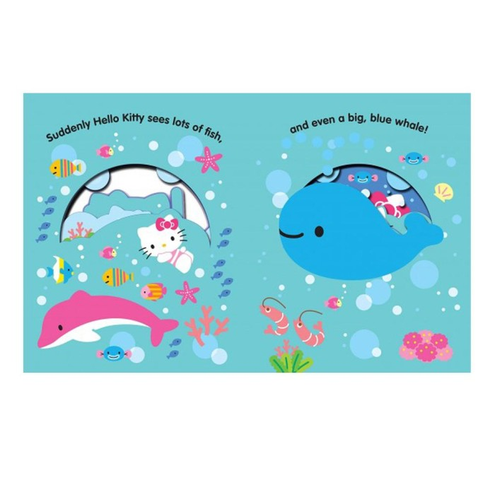6a635d36d Jual Hello Kitty Under The Sea : An Underwater peep-through Window ...