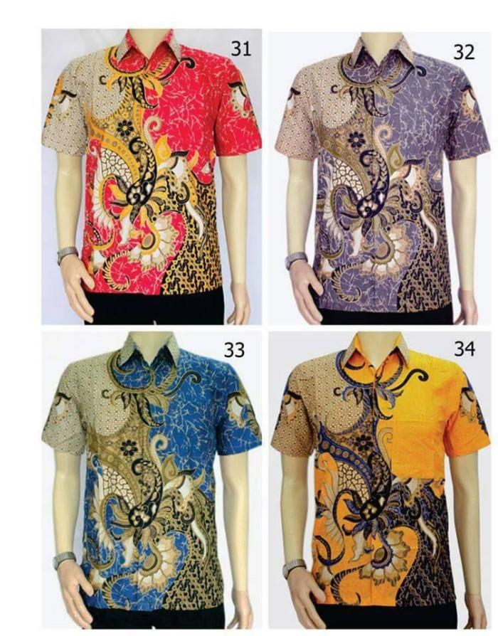 Jual Grosir Kemeja Batik Pria Model Baju Batik Modern Pekalongan ... 34272b5900