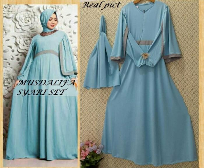 Jual Gamis Syari Busana Muslim Wanita Modern Bagus Murah Original Gm00024 Kota Bandung Online Store Prima Tokopedia