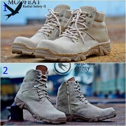 harga Sepatu moofeat radial / sepatu boots pria /sepatu sol delta handmade Tokopedia.com