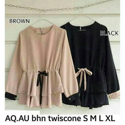 Foto Produk atasan wanita blouse muslim aurora 143 dari ShopNaufal