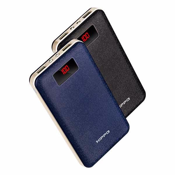 Hippo Powerbank Viure 20000 mAh Simple Pack - Biru