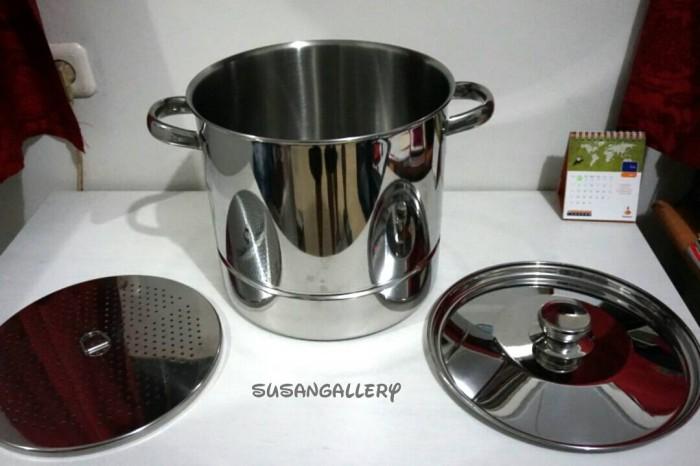 Bima prima stockpot steamer 28 cm / langseng panci kukus tinggi