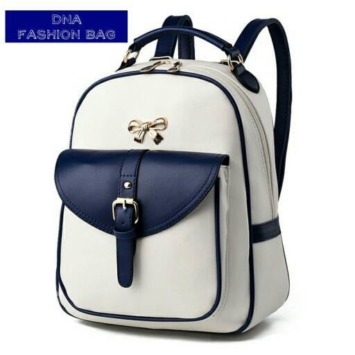 Foto Produk tas wanita murah backpack pita grosir tas ransel dari Then4Shop