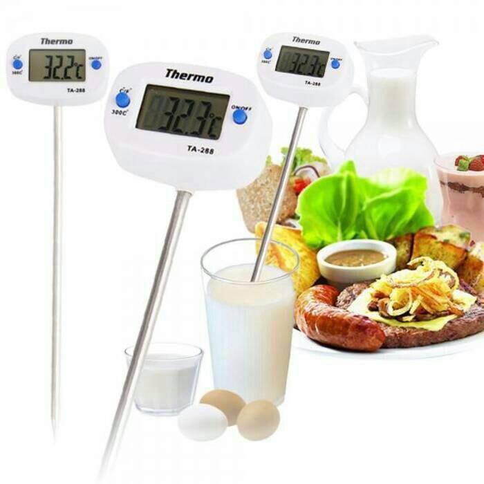 harga Termometer makanan air & daging-food thermometer digital ta 288 Tokopedia.com