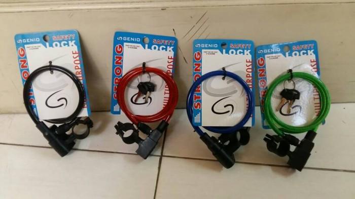 Kunci Spiral / Kunci sepeda Genio KK-2507