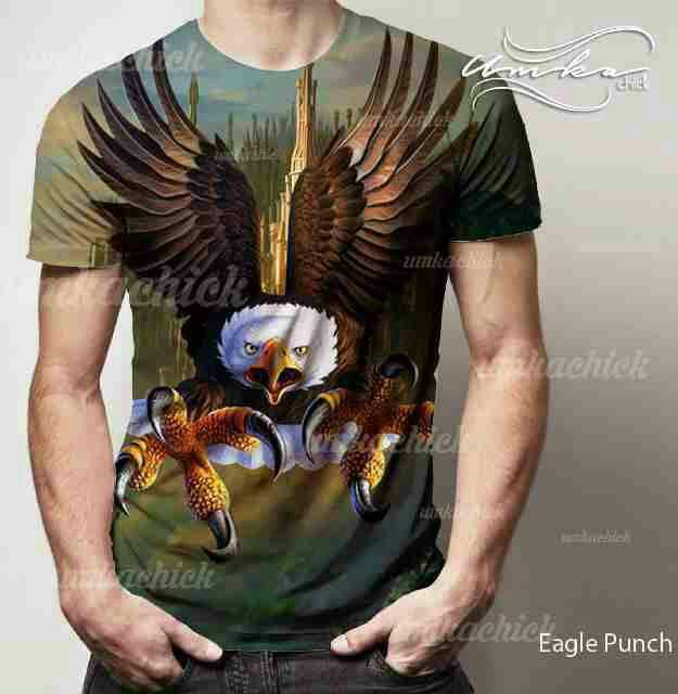 Laris!!! eagle punch - kaos full print umkachick